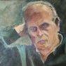 La tête ailleurs [Acrylique - Etude de portrait (...)]
