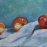 Pommes et coings - 2 [Etude - 20 x 50]