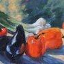 Aubergines, poivrons & Co [Huile - 41 x 33]