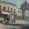 Au coeur de Rambouillet [Huile - 50 x 65]