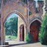 Abbaye des Vaux de Cernay - 1 [Huile - 61 x 46]