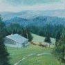 Alpages du Jura [Acrylique - 60 x 30]
