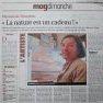 Portrait-Reportage [L'Echo Républicain du 24.11.2013]