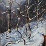 L'hiver - La Vallée Noire sous la neige [Huile sur toile - 61 x 46]