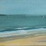 Souvenir d'été en Bretagne [Etude acrylique - 15 x 30]