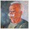 Portrait de Jean-Pierre [Huile - 50 x 50]