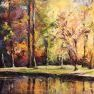 Saison contrastée [Pastel - 50 x 65]
