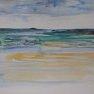 Entre ciel et eau [Croquis Val-André - 20 x 30]