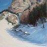 Vers le Lauzet (Hautes-Alpes) [Huile - 50 x 70]