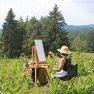 Dans le Jura [Vive la peinture en plein air (...)]