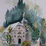 Notre Dame de la Gorge [Aquarelle - 40 x 30]