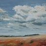 Entre plaine et nuages [Acrylique - 38 x 55]