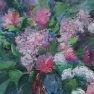 Bouquet en médaillon [Ovale - 50 x 40]