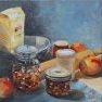 Pour un gâteau aux pommes [Huile - 40 x 40]