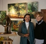 Myriam de Dinechin et Brigitte Matern
